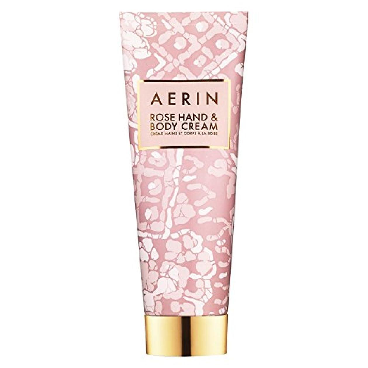 進化制限された首Aerinはハンド&ボディクリーム125ミリリットルをバラ (AERIN) (x2) - AERIN Rose Hand & Body Cream 125ml (Pack of 2) [並行輸入品]