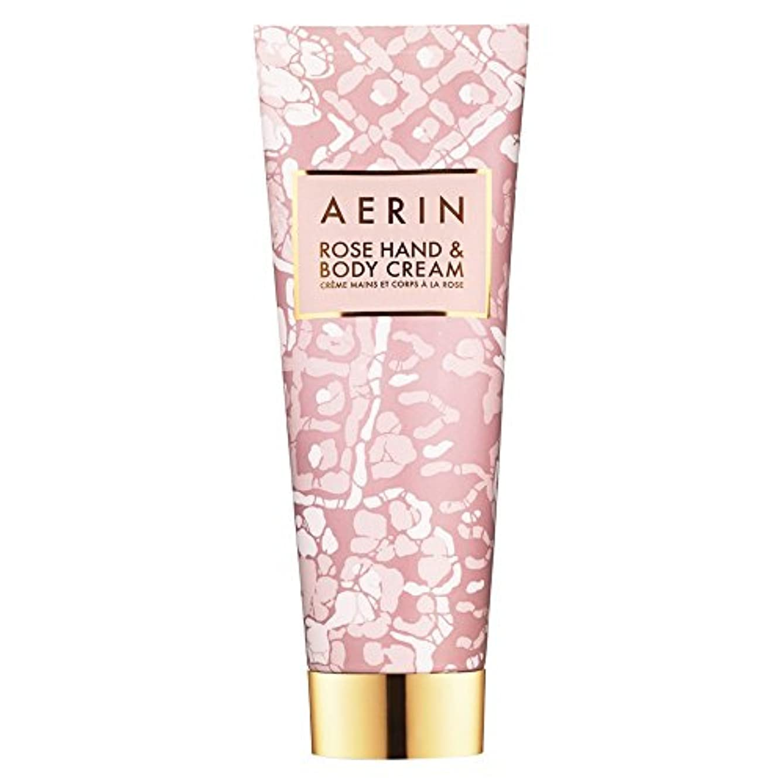 控えめな補正乳Aerinはハンド&ボディクリーム125ミリリットルをバラ (AERIN) (x6) - AERIN Rose Hand & Body Cream 125ml (Pack of 6) [並行輸入品]