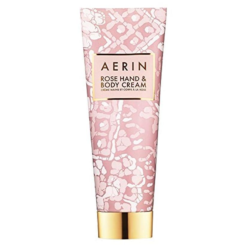 追うラボ分Aerinはハンド&ボディクリーム125ミリリットルをバラ (AERIN) - AERIN Rose Hand & Body Cream 125ml [並行輸入品]