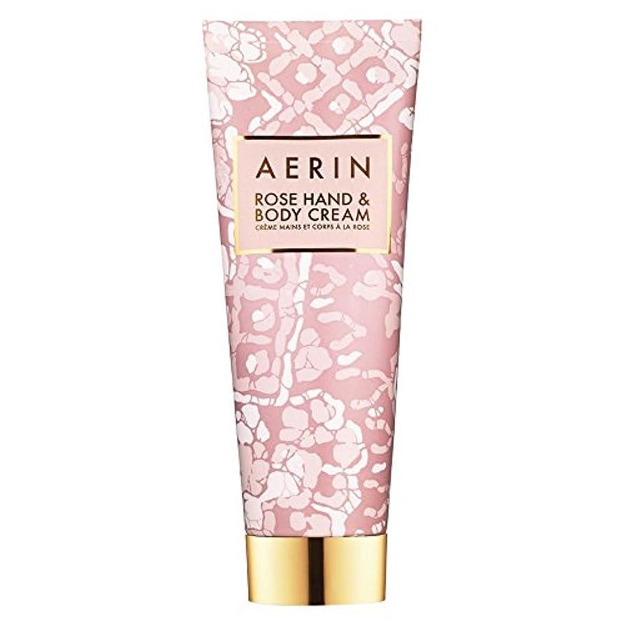 骨マーク継続中Aerinはハンド&ボディクリーム125ミリリットルをバラ (AERIN) - AERIN Rose Hand & Body Cream 125ml [並行輸入品]