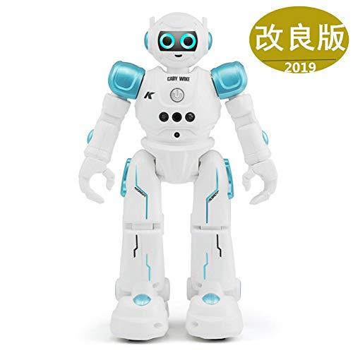 ロボット おもちゃ 男の子 電動ロボット プログラム機能 手振り制御 タッチモード 歩く/ダンス/ソング 誕生日 子供の日 クリスマスプレゼント「日本語取扱説明書付き」