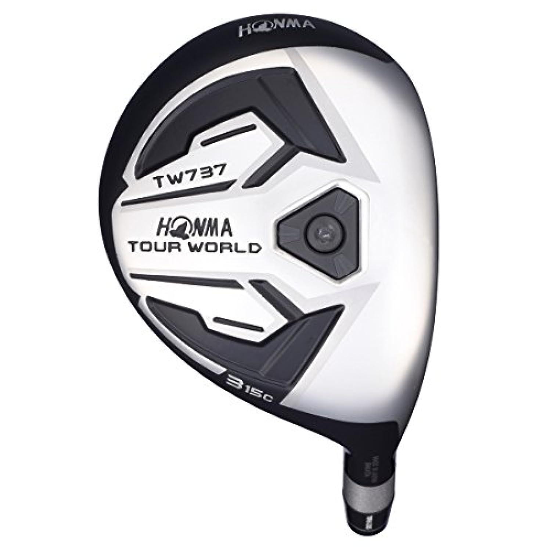 本間ゴルフ フェアウェイウッド TOUR WORLD ツアーワールド TW737 FWc フェアウェイウッド 7W(21度) VIZARD EX-Z 55シャフト フレックス:S TW737-FWc 右 ロフト角:21度 番手:7W(21度)