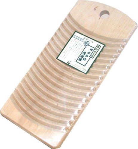 [해외]TOSARYU 도사 용 구식 사쿠라 빨래판 M 사이즈 SS-1003 30 × 14 × 1.5cm/TOSARYU Tosa Ryu old-fashioned cherry washboard M size SS-1003 30 × 14 × 1.5 cm