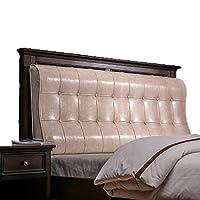 ベッド枕 ヘッドボードソフトバッグクッション枕ダブル畳枕ベッドカバーベッドクッションオイルワックス素材スポンジフィラー7色サイズ120センチ - 200センチ 写真ベッド枕首まくら (色 : F f, サイズ さいず : 190cm)