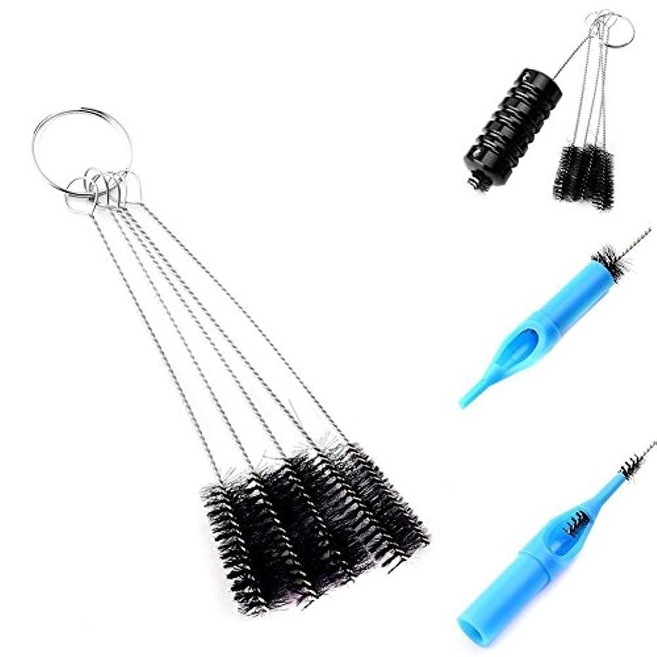 擬人化生活速記Demiawaking 5個 多機能ツール タトゥー機器 針ブラシ ブラシタトゥー洗浄用品