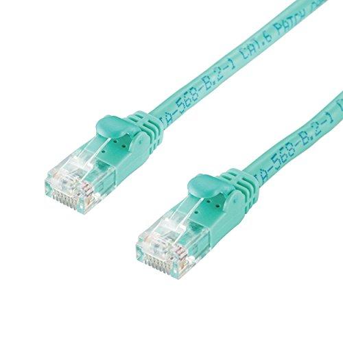 エレコム カテゴリー6対応 Gigabit LANケーブル 3m グリーン LD-GP/GN3/C