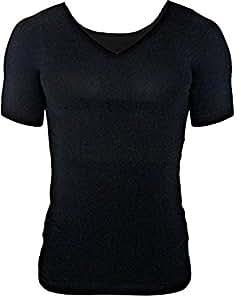 スリムゼウス 次世代 加圧シャツ ( M、黒 3枚セット)