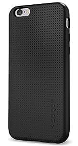 【Spigen】 iPhone6s ケース / iPhone6 ケース, [ ソフト TPU 米軍MIL規格取得 耐衝撃 ] リキッド・アーマー アイフォン 6s / 6 用 カバー (ブラック SGP11751)