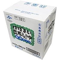 はぼまい 昆布しょうゆ 塩分カット 1L×6本入 【北海道歯舞産昆布使用】