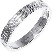 [エルメス]HERMES K18WG キリムミニ ウエディングリング 指輪 #56(15.5号) H104920B 中古