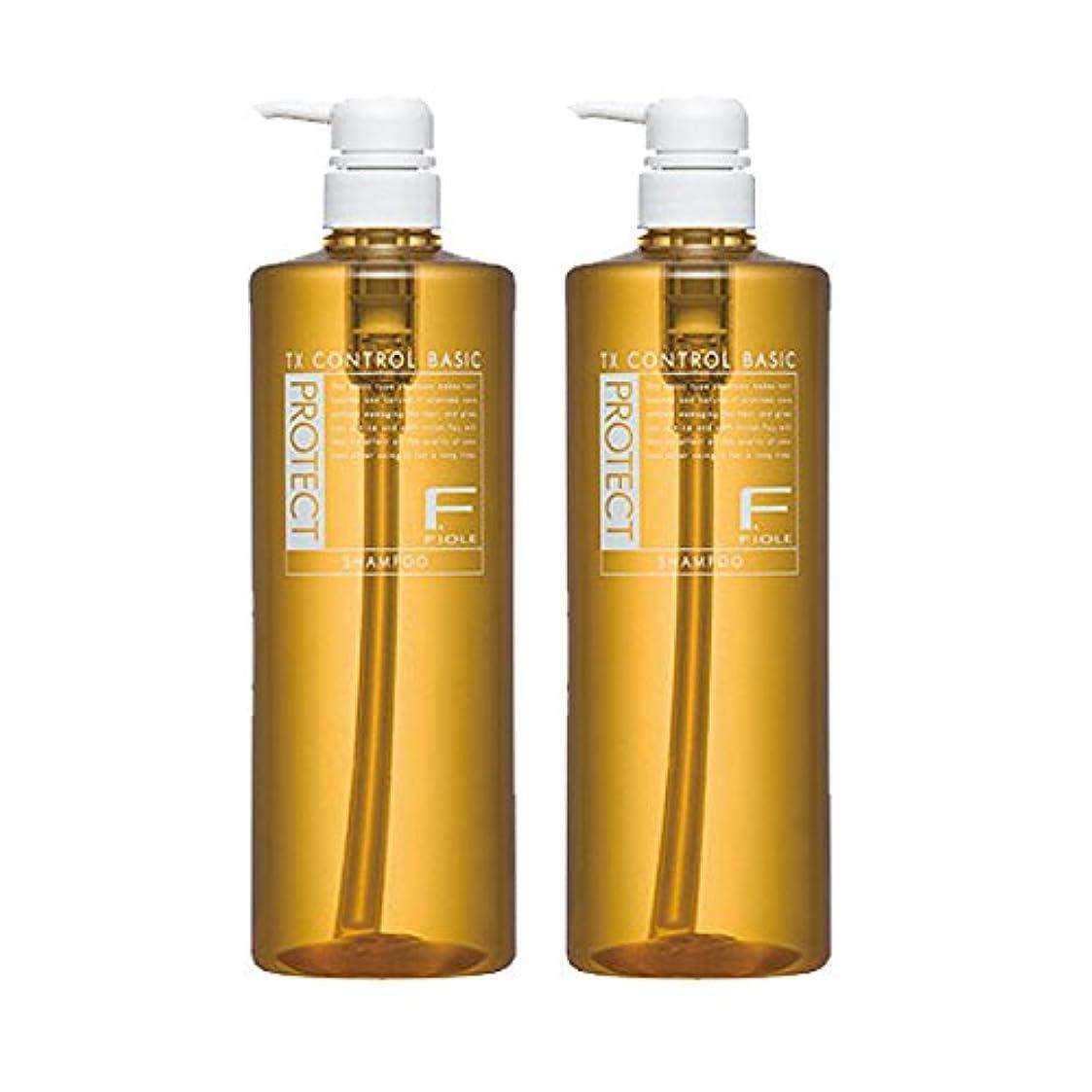 熟達したオレンジ世代フィヨーレ Fプロテクト ベーシックタイプ シャンプー 1000mL ボトルタイプ × 2個 セット fiole
