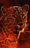 Leopard 5 x 8 Weekly 2020 Planner: One Year Calendar