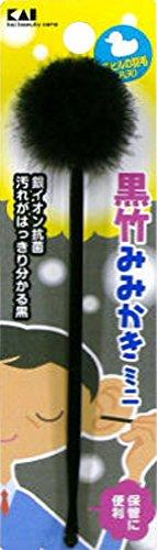 KQ0314 黒凡天耳かき ミニ 1本