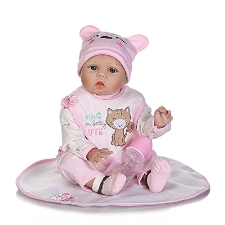 NPKDOLLシミュレーションRebornベビー人形ソフトSilicone 22インチ55 cmビニールLifelike Vivid Toy Boy Girl rd55 C204
