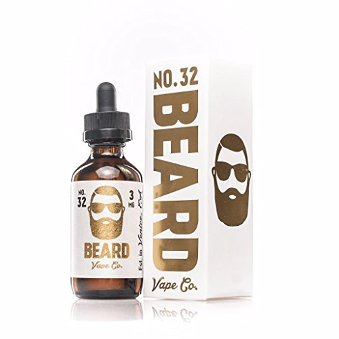 内向きタッチ電子Beard Vape Co eJuice No. 32 シナモン ファンネルケーキ 60ml リキッド VAPE 電子タバコ 禁煙キッズ