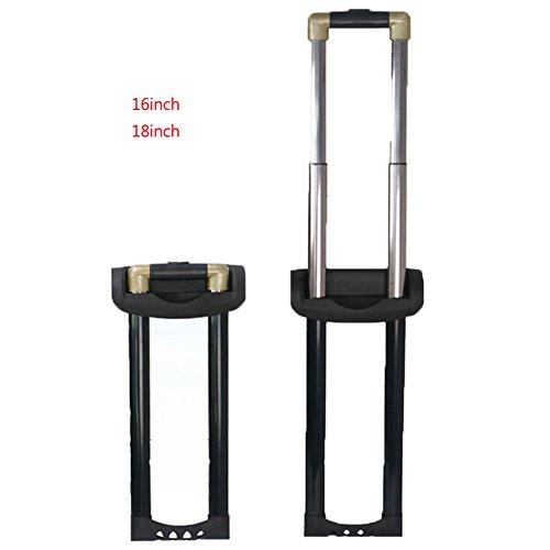 崇明 スーツケース 修理 伸縮ハンドル 旅行ラゲッジのパーツ キャリーバッグ キャリーケース 取り替え伸縮ロッド キャリーバッグの伸縮ロッド DIY修理品 004 (16inch)