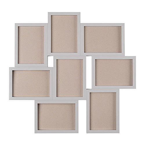RoomClip商品情報 - IKEA/イケア VAXBO:コラージュフレーム 写真8枚用/55×58cm グレー (603.529.14)