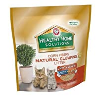 Arm & Hammer 718002 3/10# Healthy Home Solutions Corn Natural Clumping Litter [並行輸入品]