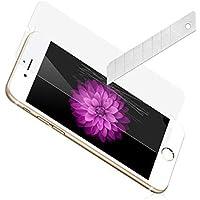 PAMISO® iphone6 plus,6s plus 5.5インチ用液晶保護強化ガラスフィルム スマートフォン ガラスフィルム 硬度9H 超薄0.15mm 液晶保護ガラスフィルム 保護シール 2枚入り(5.5インチ)