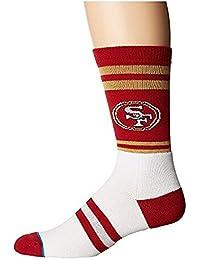 スタンス Stance メンズ 靴下 ソックス Red 49ers Logo LG (Mens Shoe 9-12) [並行輸入品]