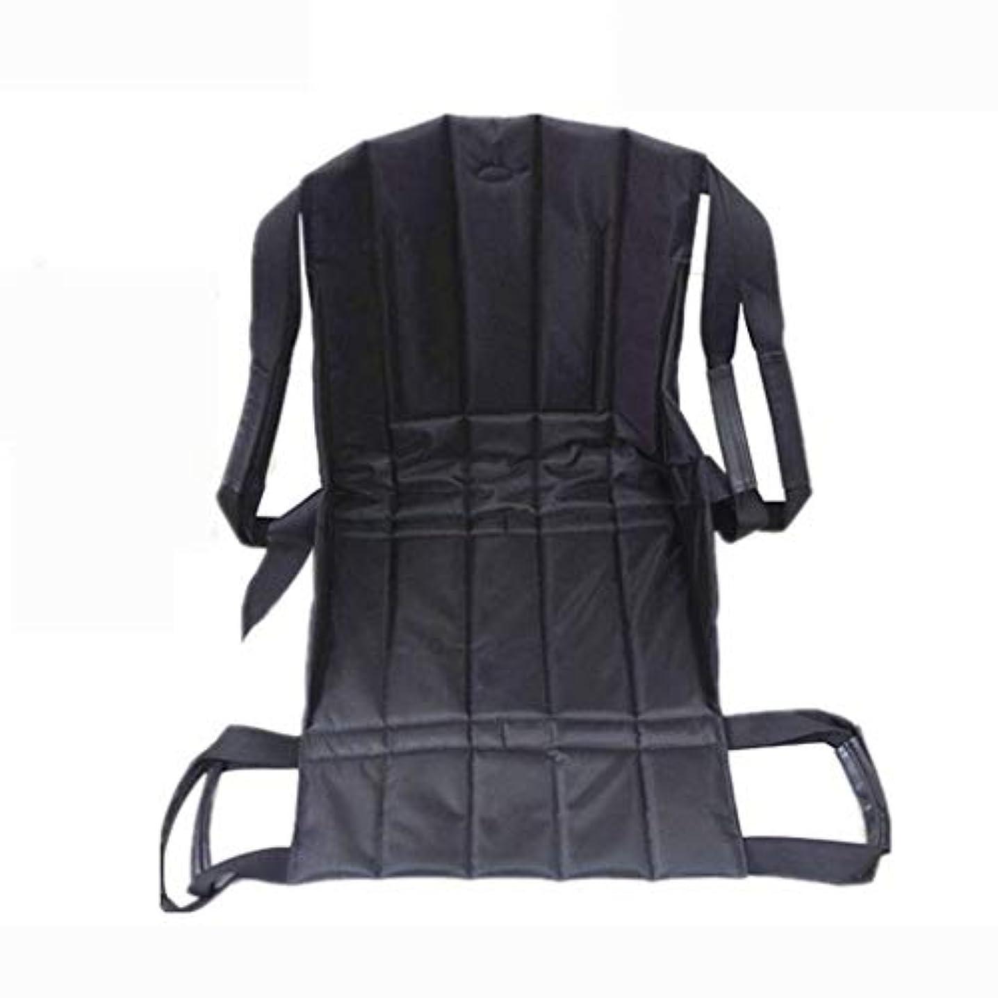 彼女は部門まもなく患者リフト階段スライドボード移動緊急避難用椅子車椅子シートベルト安全全身医療用リフティングスリングスライディング移動ディスク使用高齢者用 (Color : A)