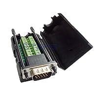 AiCheaXツール-DB15オス15ピン溶接アダプタープレートなしHDB 15ピンオスブレイクアウトボード