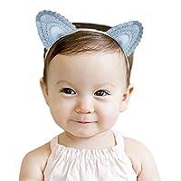 CRB猫耳パーティーベビーガールズ幼児用ヘアタイヘアバンド