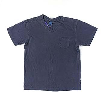 GOOD ON グッドオン S/S V-NECK POCKET TEE ショートスリーブVネックポケットTシャツ GOST1408 (Lサイズ, P-NAVY)