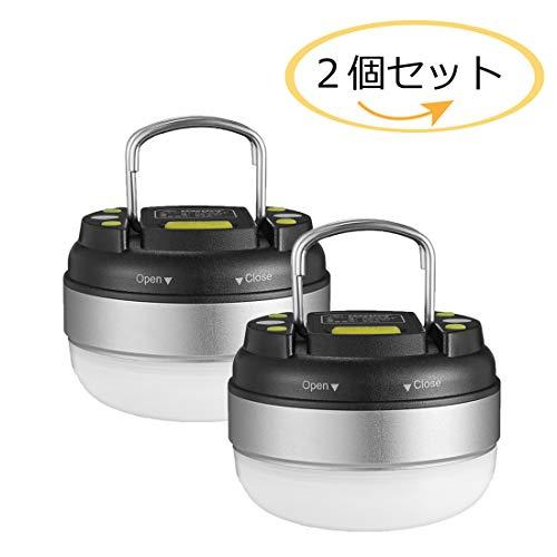 LEDランタン 電池式 【明るさ 130ルーメン/実用点灯7-27時間/防滴...