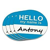 アントニーこんにちは、私の名前はコースターセット