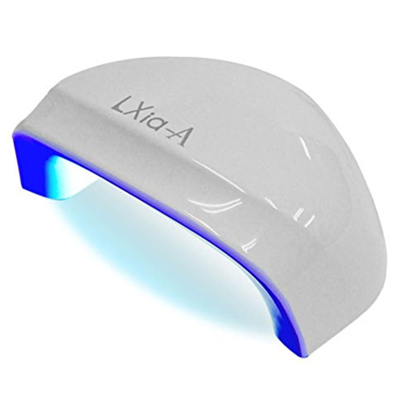 なぜなら気怠い部分的にプリジェル ジェルネイル レクシア-A 6W LEDライト
