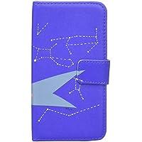 WE LOVE LOCOHAMA バーテンダー 星に乾杯! 手帳 (ナイトブルー) iPhone7対応 WLL-002-IP7B
