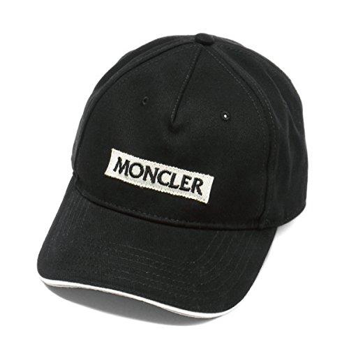 (モンクレール) MONCLER キャップ ブラック 0039100 0391B 999 [並行輸入品]