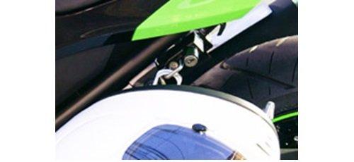 キジマ(Kijima) ヘルメットロック Ninja250(ニンジャ250)('13-'14)/Z250 ブラック 303-1540