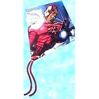 Marvel Avengers Iron Man Tall Poly Diamond Kite ( 22インチ)