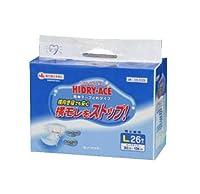 ハイドライエース簡単テープ止め 店頭用 Lサイズ 26枚×2袋