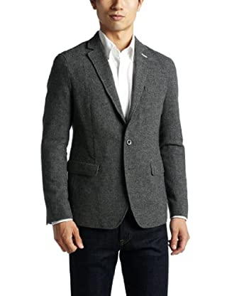 Homespun 2-button Jacket 1222-174-0492: Gray
