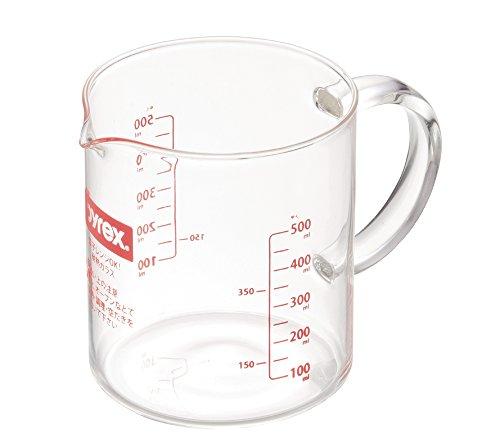 PYREX Br メジャーカップ ハンドル 付 500ml CP-8578