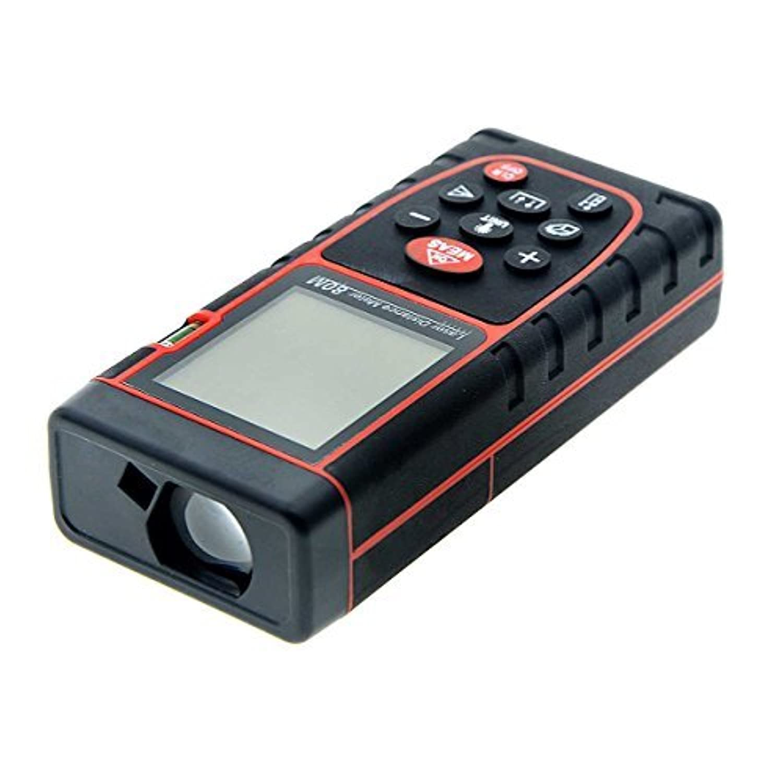 Digital Laser Distance Meter 80M 262 Feet Handheld Rangefinder with High Precision Infrared Measuring Instrument Electronic [並行輸入品]
