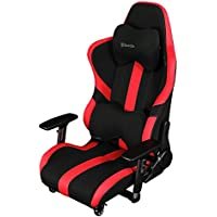Bauhutte (バウヒュッテ) ゲーミングチェア プロシリーズ ゲーミング座椅子 リクライニング 4D稼働アームレスト採用 LOC-950RR-RD