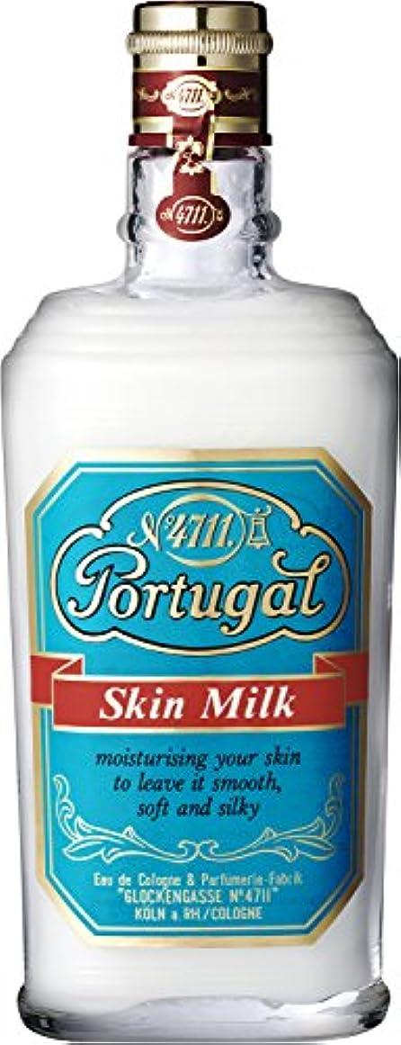 トリクル肉のローブ4711 ポーチュガル スキンミルク 150ml