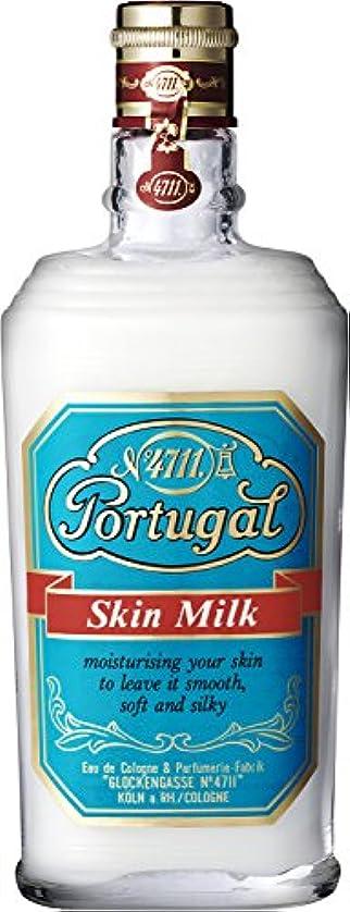 検出ダルセット少ない4711 ポーチュガル スキンミルク 150ml