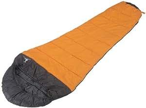 キャプテンスタッグ キャンプ用品 寝袋 シュラフ アクティブ 600 オレンジ M-3439