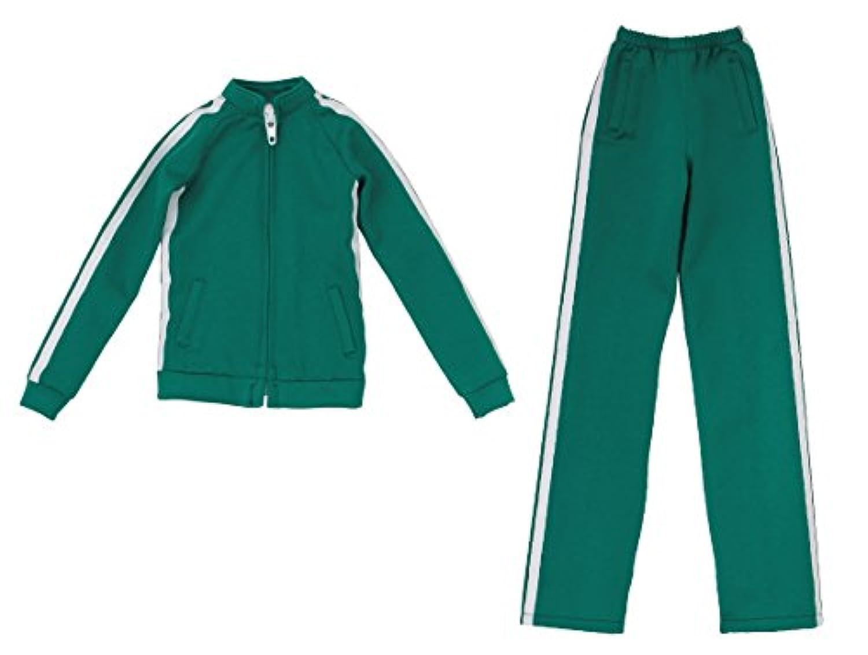 AZO2 ジャージセット 緑 48/50 cm「AZO2 」ボディ FAO052-GRN ドール服