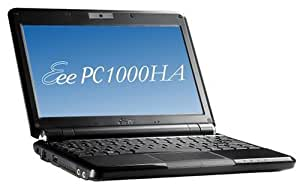 "ASUSTek ASUS Eee PC 1000HA 10"" Netbook (1.6GHz Intel ATOM N270 Processor, 1GB RAM, 160GB HDD, XP Home, 6 Cell Battery) Fine Ebony【US model:並行輸入品】"
