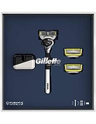 ジレット プロシールド 髭剃り本体+替刃3個 オリジナルスタンド付 スペシャルパッケージ