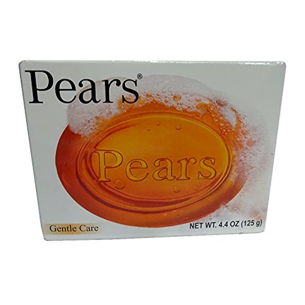 航空便蛾惑星Pears ソープジェントルケア透明4.4オズ(3パック) 3パック