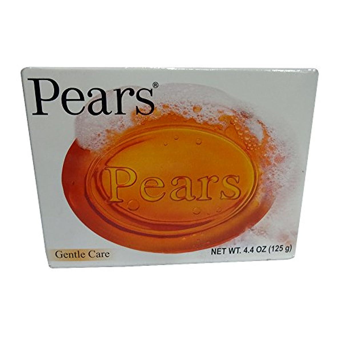 ひそかに風所有者Pears ソープジェントルケア透明4.4オズ(3パック) 3パック