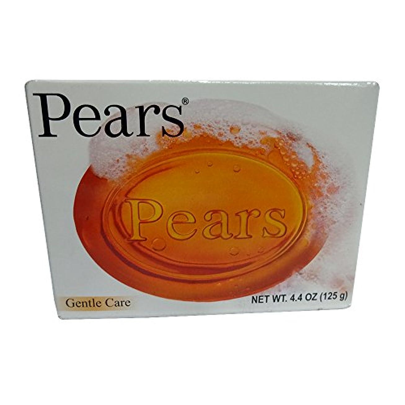 Pears ソープジェントルケア透明4.4オズ(3パック) 3パック