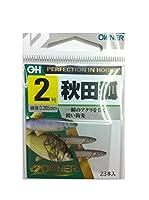 OWNER(オーナー) バラ 10003 茶 秋田狐 フック 2 釣り針